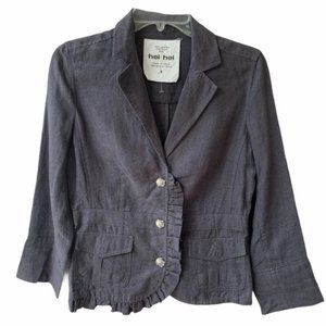 Anthropologie Hei Hei Jacket Gray Women's 4